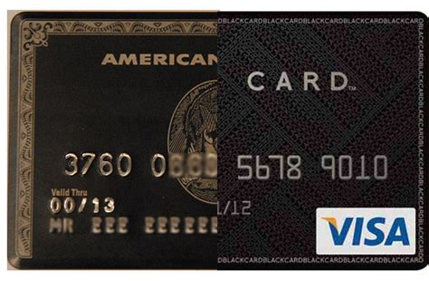 Black is the new gold : American Express Centurion black
