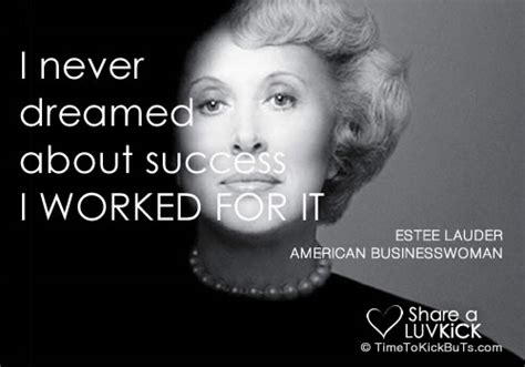 Estee Lauder's quotes, famous and not much - Sualci Quotes