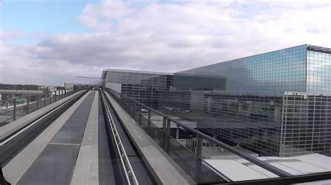 Sky Line train in Frankfurt Airport from Terminal 1 to