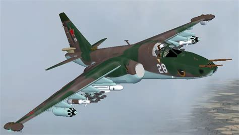 Sukhoi Su-25/39 Frogfoot Multi Livery Pac for FSX