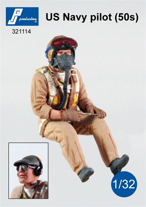 Two New 1/32 Pilot Figures from PJ Production   Industry
