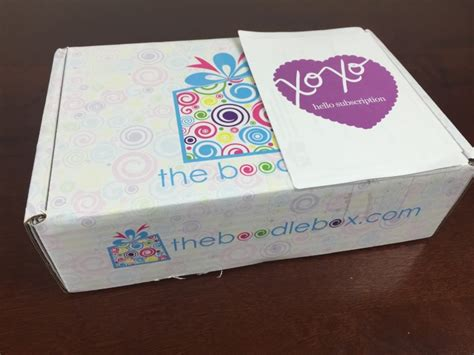 Boodle Box Subscription Box Review - Girl, Teen, & Tween