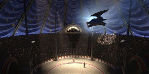 Dumbo Production Design: Building Dreamland as a Tim