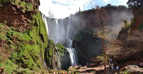 Ouzoud Waterfalls Guided Tour from Marrakech with Boat