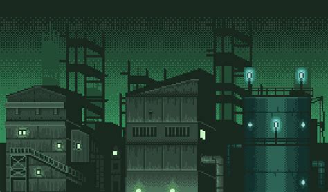 Industrial Parallax Background | OpenGameArt